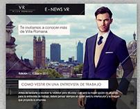 Newsletter Villa Romana
