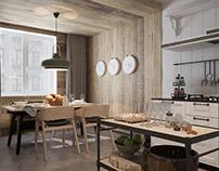 Scandinavian interior for a businessman by ZOOI design