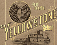 Yellowstone Bourbon Whiskey Illustrated by Steven Noble