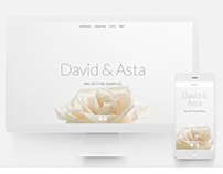 Web | David & Asta Luxury Wedding site
