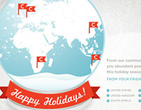Communispace Holiday Card