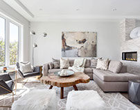 Home in North Vancouver by Beyond Beige Interior Design
