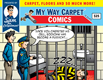 MY WAY CARPET Comic