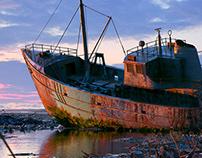 WRECKAGE SHIP