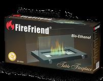 FireFriend Verp[akking ontwerp