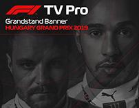 F1 TV Pro - Grandstand Banner