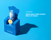 LANEIGE WATER BANK HYDRO ESSENCE PRESS KIT