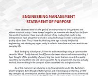 Management SoP Samples on Behance