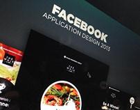 Facebook App Design 2013