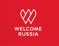 «Welcome Russia» – Brand Identity