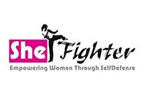 She Fighter Logo