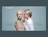"""Design for the cosmetics company """"MAKEUP"""""""