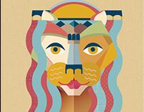 Brand illustration Ana Isabel Gil - Studio Hippocampus