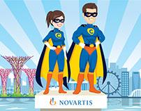 Novartis Super Heroes