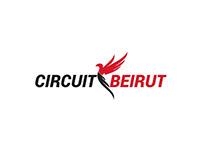 Logo and mock ups- Circuit Beirut