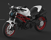 Ducati Monster 796 (FZ headlight)