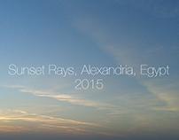 Sunset Rays...Alexandrina. .Egypt