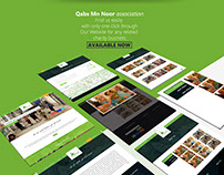 QABS MN NOOR ASSOCIATION / website - UI/UX