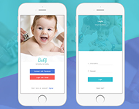 Baby health app login