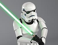 Star Wars 3D Models / Stormtroopers