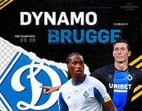MATCH DAY!!! DYNAMO vs BRUGGE