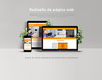 Proleasing web design