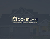 DOMPLAN Logo & Business Card