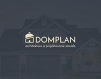DOMPLAN Logo & Business Card