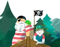 Els Piris i el misteri del pirata de riu