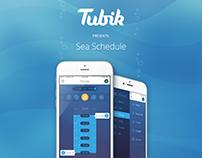 Sea Schedule App