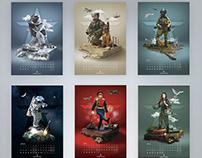Russian Army calendar