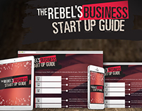 Business Rebellion branding, writing, product launch