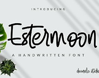 Estermoon - A Handwritten Font