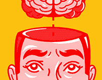 Hack the Buyer Brain | BOOK COVER DESIGN & ILLUSTRATION