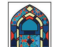 Turkish Restaurant - Lale-Rumi - Menu Card Design