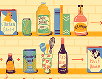 Food Illustrations for The Spruce