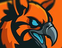 'Hybrid Gaming' Mascot Logo/Sheild