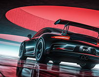 Porsche 911 GT3 RS - CGI & Retouching