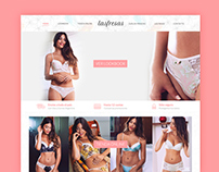 LasFresas Lingerie | eCommerce - Branding