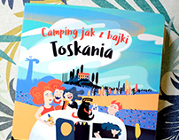 Camping jak z bajki – illustrated book 2018