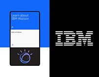 IBM — New website redesign
