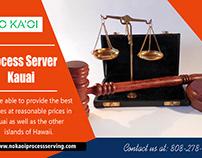 Process server Kauai
