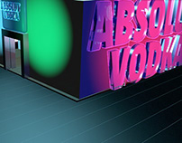 Absolut Vodka [ Trade Show Stand ]
