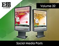 Social Media Posts (Volume 32)
