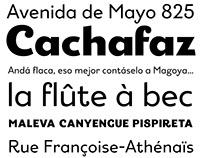 Rantifusa Typeface