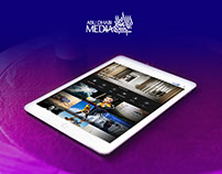 Abu Dhabi Media Company   Web Design