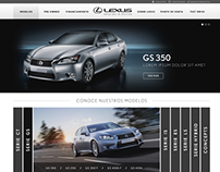 [ LEXUS ] Sitio Web Responsivo