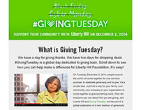 Giving Tuesday at Liberty Hill