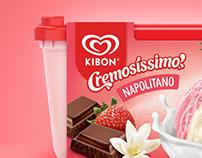 Kibon's Ice Cream Packaging Redesign