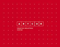 ARTCOR - Creative Industries Center - IDENTITY
